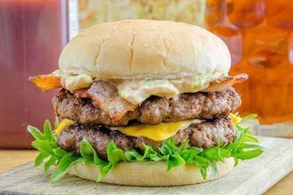 hamburger di salamella