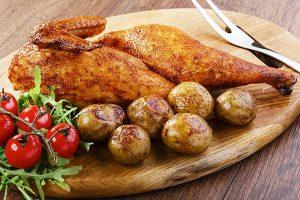 Pollo tagliato a metà prodotti costina giusta