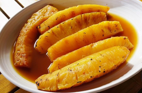 ananas al pepe nero