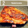 Filetto di maialino con cipolle allo zenzero e patate alla paprika